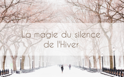 La magie du silence de l'Hiver