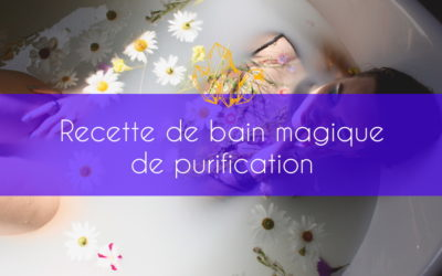 Bain magique de purification